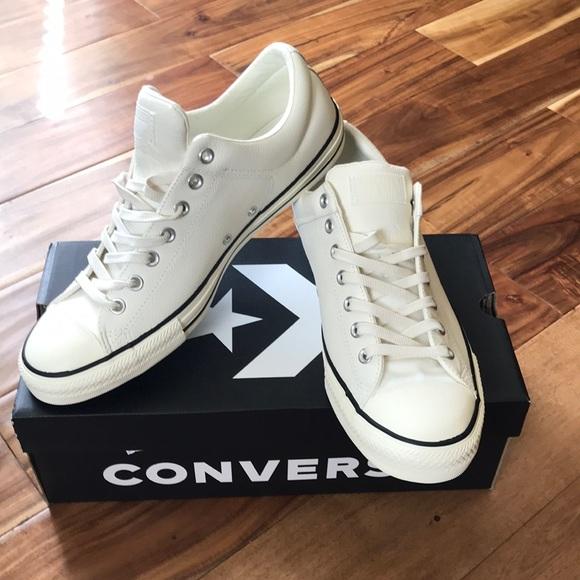 bc5b5d03428f Converse Leather Sneaker Shoes Sz 12 Men s NWB